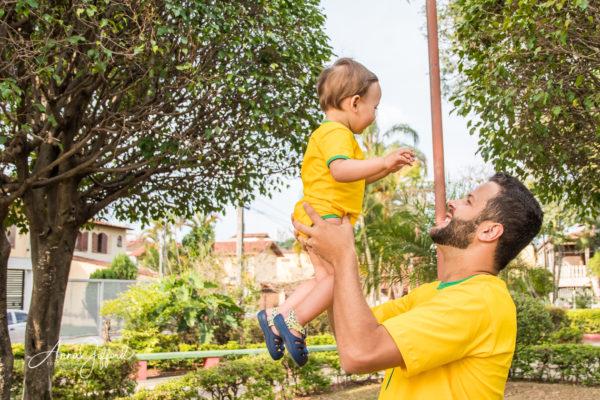 Ensaio Fotográfico de Família ao Ar Livre