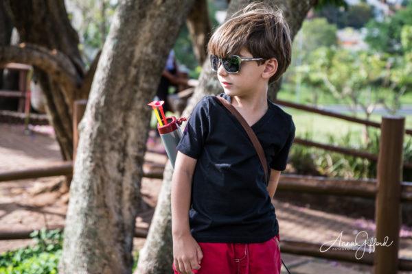 Ensaio Infantil ao Ar Livre