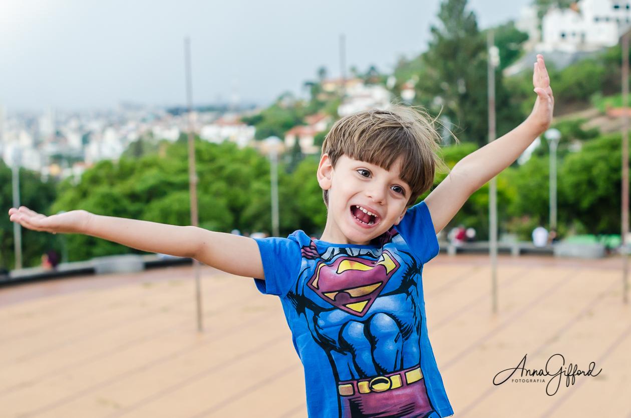 Yuri - O Super-Herói - Ensaio Infantil em BH