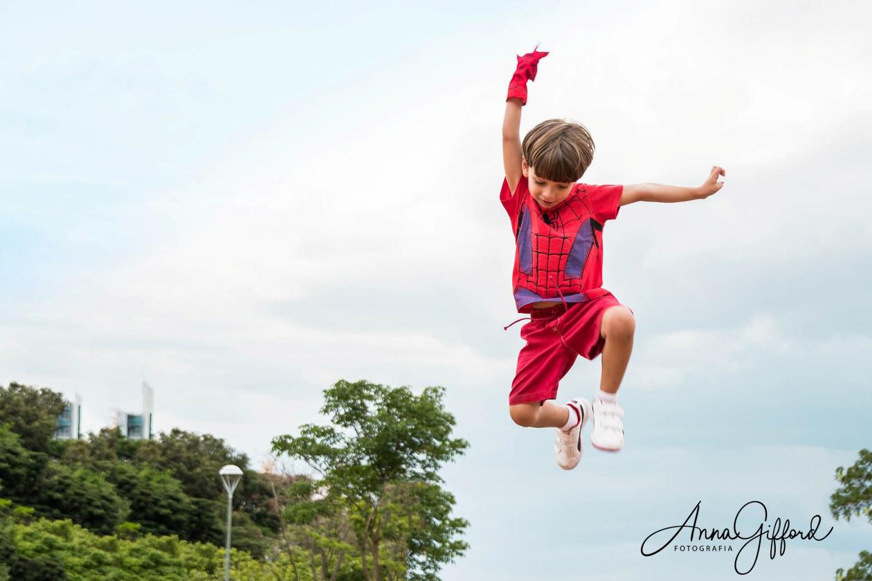 Yuri - O Super-Herói  |  Ensaio Infantil em BH