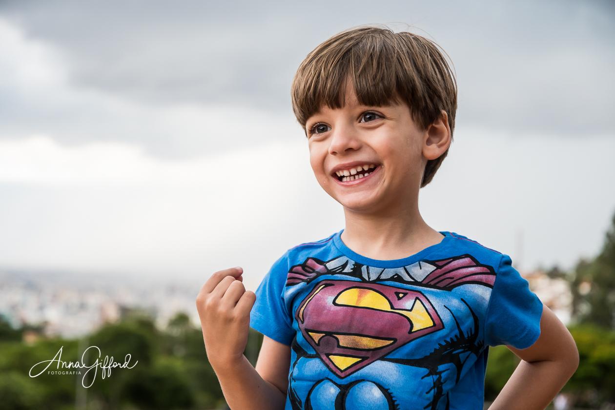 Ensaio Infantil em BH - Yuri: O Super-Herói
