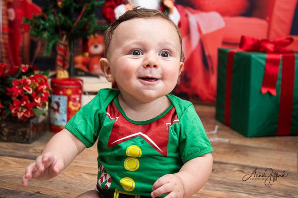 Ensaio de Natal Bebe BH