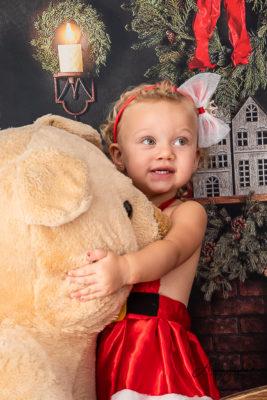 ensaio fotografico natal infantil