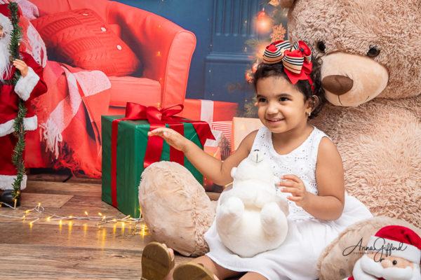 Ensaio de Natal Infantil BH